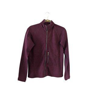 Ibex Women's Merino Wool Zip Up Jacket M